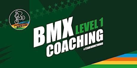 Level One BMX Coaching tickets