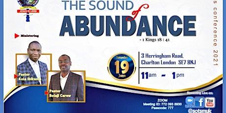 The SOUND of ABUNDANCE tickets