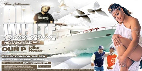 Reflection On The Sea All White Affair tickets