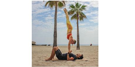 AcroYoga Level II & Beach Fun Holiday in Estoril, Portugal (4 Days) bilhetes