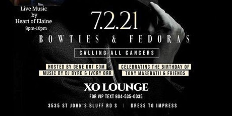 First Friday Supreme Bowties & Fedoras Edition tickets