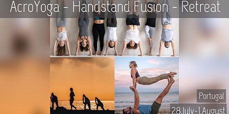 Yoga, Handstand & Acroyoga Retreat in Estoril, Portugal (5 Days) bilhetes