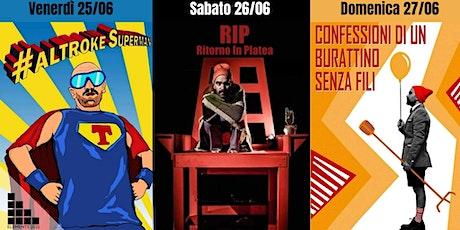 """Elements 2021 - """"Trilogia"""" + """"La Bestia"""" biglietti"""