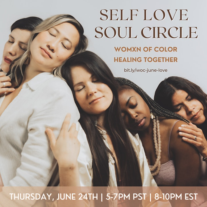 SELF LOVE SOUL CIRCLE for Womxn of Color image
