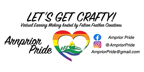 Arnprior PRIDE 2021: Earring Making with Falcon Feather Creations tickets