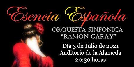 """Esencia Española - Orquesta Sinfónica """"Ramón Garay"""" tickets"""