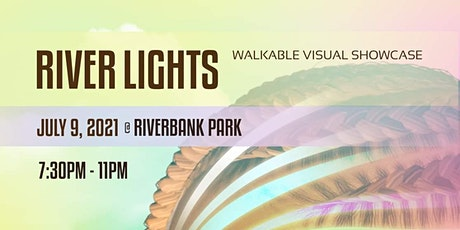 River Lights - Walking Projection Art Show tickets