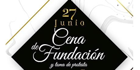 Cena de Fundación Rotaract Soltepec boletos
