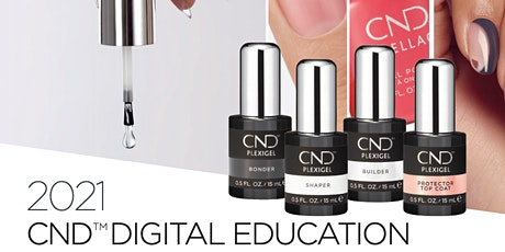 CND PLEXIGEL™ Painted Path to Perfection tickets
