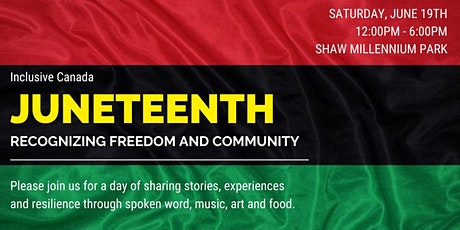 Juneteenth - Recognizing Freedom and Community tickets