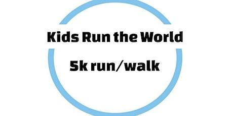 Kids Run the World 5k run/walk tickets