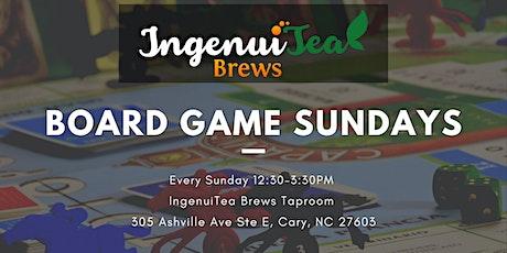 Board Game Sundays at IngenuiTea! tickets