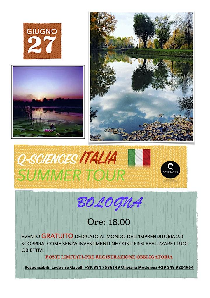 Immagine Q-Sciences Italia Summer Tour