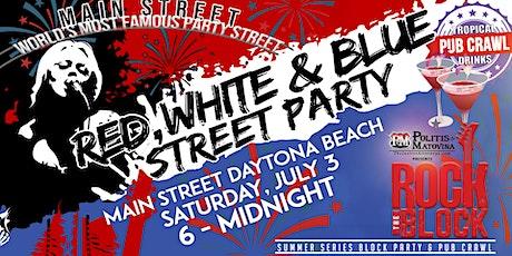 Red, White & Blue Tropical Drinks Pub CrawL tickets