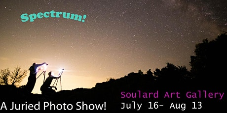 Spectrum!  A juried photography Show! tickets