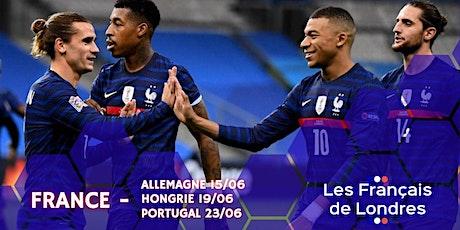 Euro 2020 - Soho Zebrano - Tous avec les Bleus - Les Français de Londres tickets