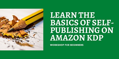 WEBINAR: Basics of Self-Publishing on Amazon KDP biglietti