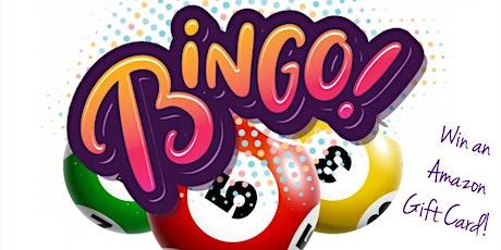 Virtual Bookworm Bingo tickets