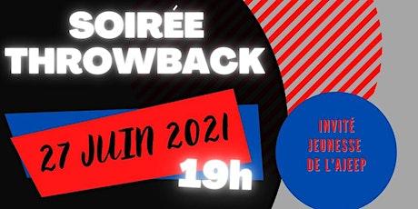 Soirée Throwback   Édition 2021 ! billets