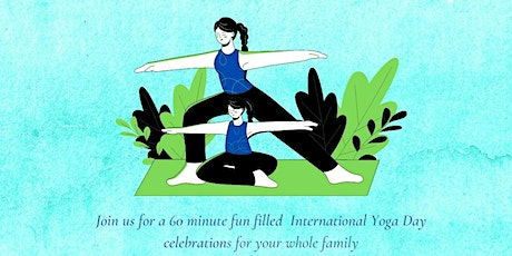International Yoga Day celebration for Kids and Parents tickets