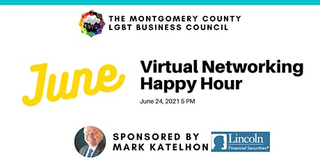 June Virtual Networking Happy Hour tickets