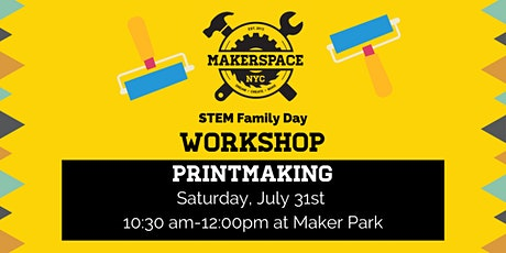 Family Day: Printmaking tickets