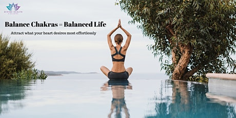 Balanced Chakras=Balanced Life tickets