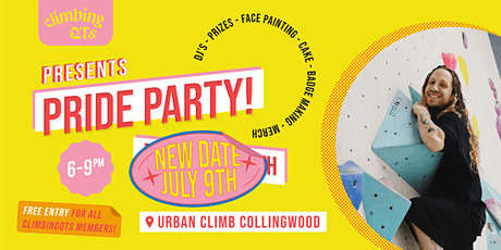 ClimbingQTs Pride Party (VIC) tickets
