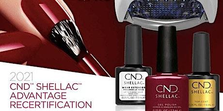 CND™ SHELLAC™ RECERTIFICATION DIGITAL EDUCATION tickets