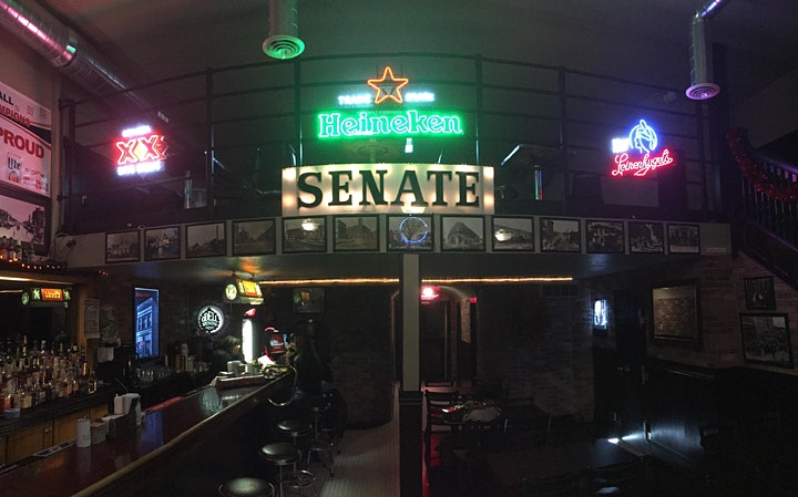 The Dig • Backroom at the Senate Bar • A Contemporary Speakeasy image