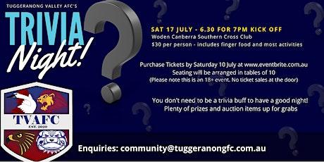 TVAFC Trivia Night tickets