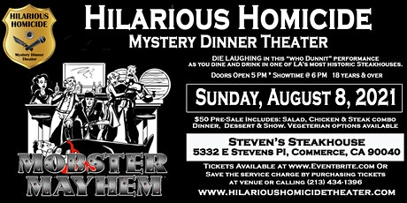 Hilarious Homicide Mystery Dinner Theater tickets