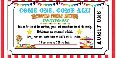 Waterford Family Fun Day tickets
