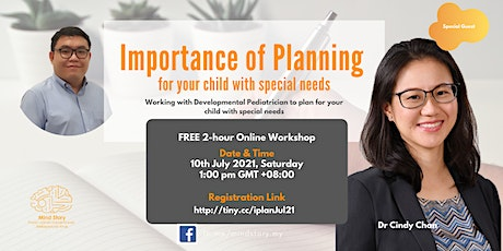 Importance of Planning for Your Child with Special Needs tickets