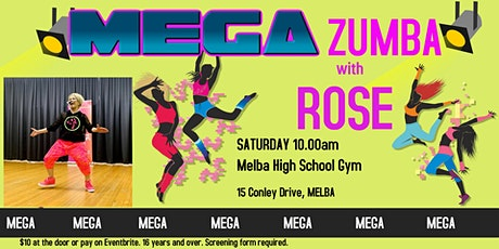 MEGA  ZUMBA WITH ROSE tickets
