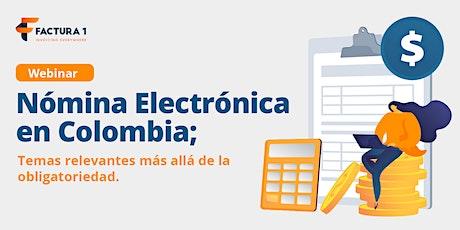 Nómina Electrónica en Colombia bilhetes