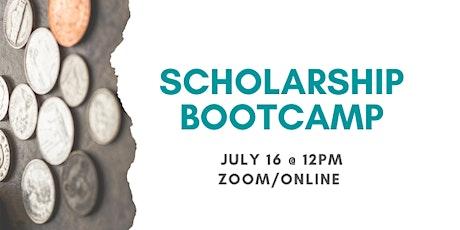 Scholarship Bootcamp tickets