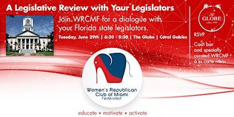 WRCMF  Forum with Florida Legislators tickets