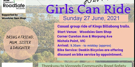 Girls Can Ride! tickets
