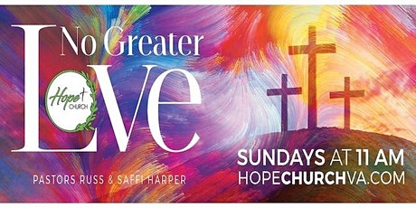Join Hope Church's  Sunday Worship Service! All are welcome! tickets