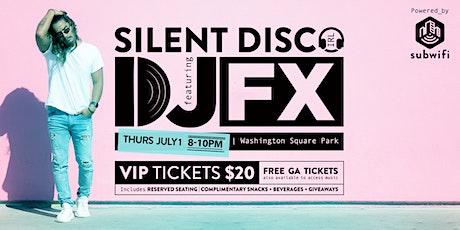 Silent Disco in Washington Square Park tickets