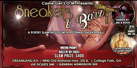 Sneakers & Barz   (Poetry Slam Infused with a Sneaker Ball) tickets