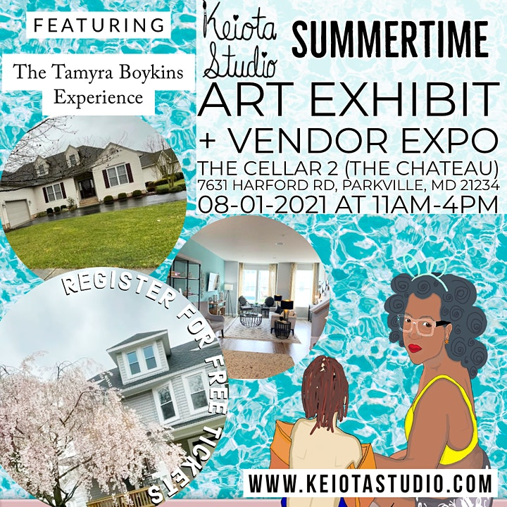 Summertime Art Exhibit & Vendor Expo FREE EVENT image