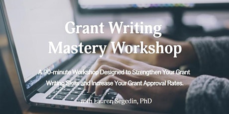 Grant Writing Mastery Workshop tickets