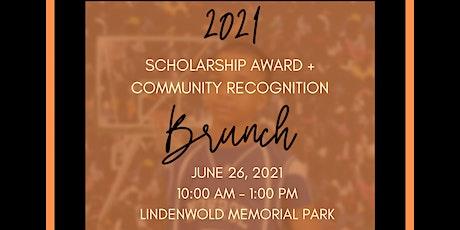 2021 BBALLFORLIFE Scholarship Award Community Recognition Brunch tickets