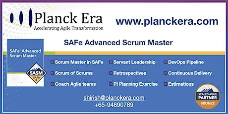 SAFe Advanced Scrum Master tickets
