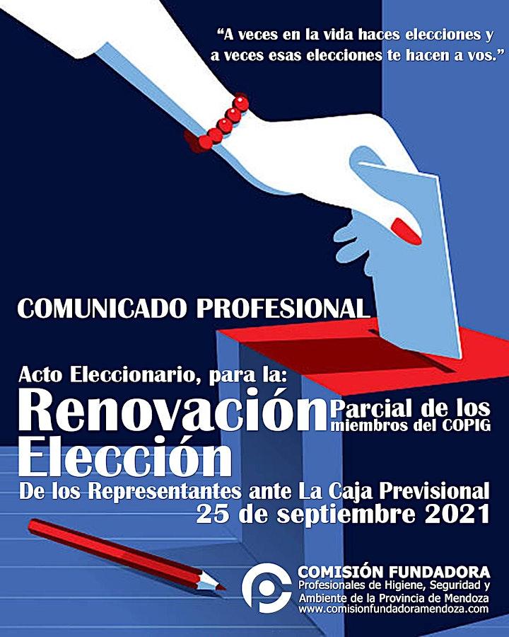 Imagen de Elecciones COPIG - Elegimos Representantes de Higiene, Seguridad y Ambiente