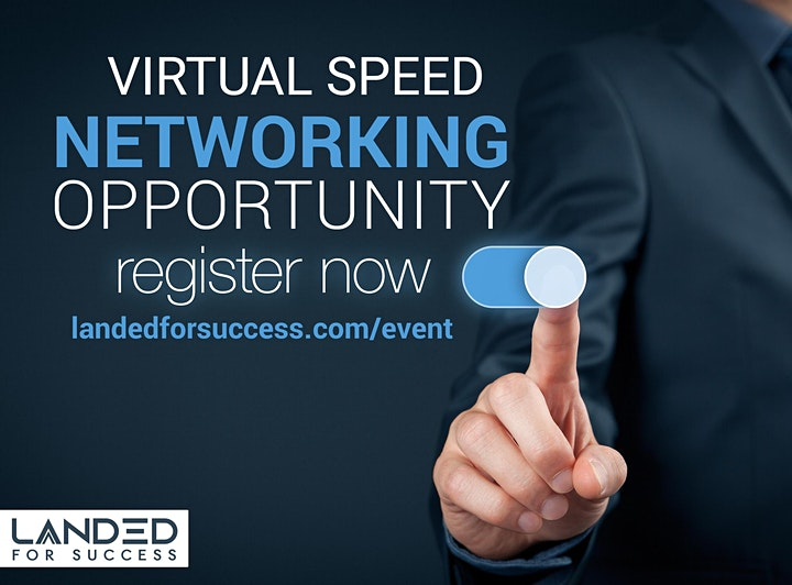 GLOBAL VIRTUAL SPEED  NETWORKING EVENT & MEET UP image