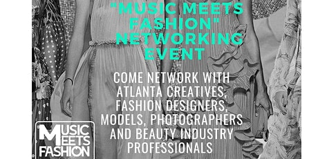 """""""Music meets Fashion"""" Networking  Mixer tickets"""