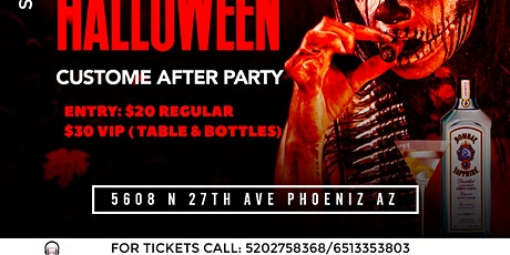 SPOOKY HALLOWEEN COSTUME AFTER PARTY tickets